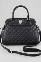 Marc Jacobs Quilted Whitney Dome Satchel - Lyst
