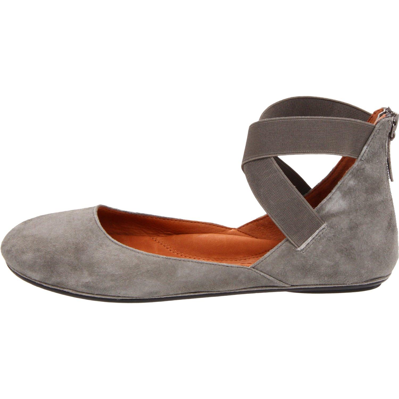 Gentle Souls Bay Unique Suede Ballet Flatsshoes Retail $195