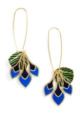 ModCloth Feathers Of Fancy Earrings - Lyst