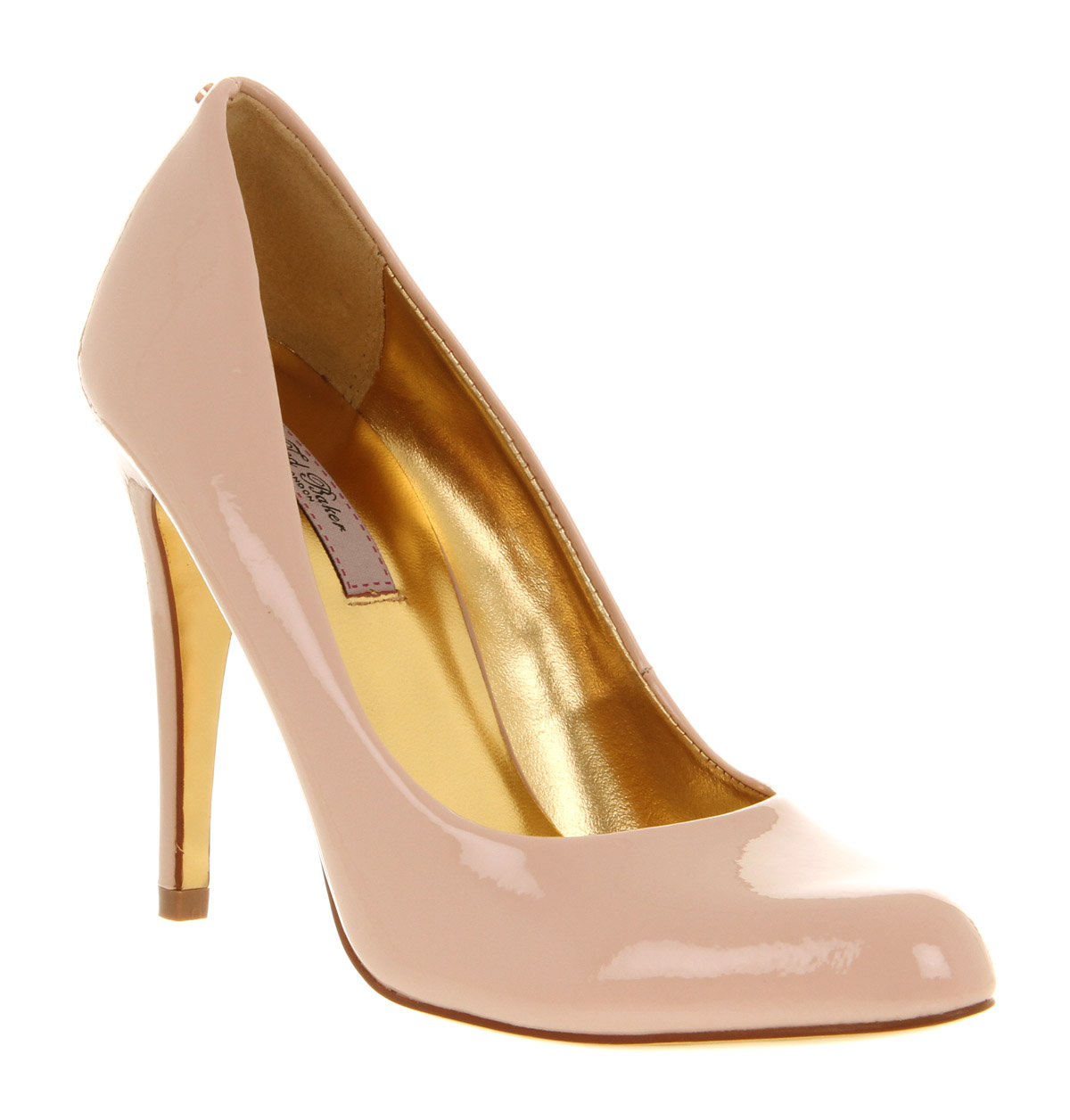 dbd9fe2a5 Ted Baker Jaxine 2 Court Shoe Nude Patent Leather in Natural - Lyst
