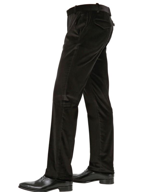 Mens Straight Black Jeans