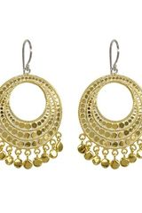 Anna Beck Large Open Disk Chandelier Earrings - Lyst