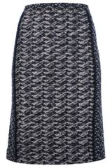 Bottega Veneta Wool Blend Tube Skirt - Lyst