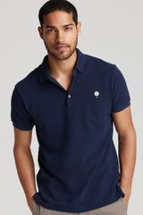 Marc By Marc Jacobs Mr Marc Logo Polo - Lyst