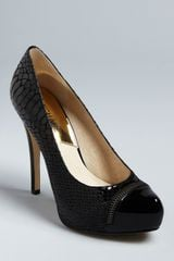 Michael Kors Michael Cap Toe Pumps Cynthia High Heel - Lyst