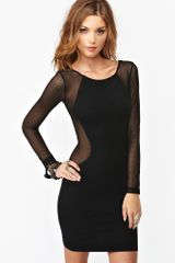 Nasty Gal Genie Mesh Dress - Lyst