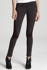 Rag & Bone Denim Leggings The Lita Jean Slim Fit Paneled Legging - Lyst