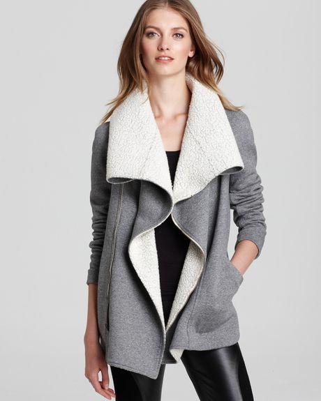 Sachin & Babi Porto with Shawl Collar Wool Blend Lining Jacket  in Gray (graphite)
