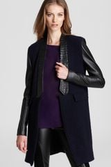 Sachin & Babi Noah with Leather Sleeves Trim Jacket  - Lyst