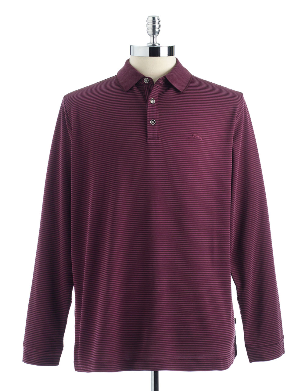 Tommy bahama tommy bahama superfecta longsleeved polo for Tommy bahama polo shirts on sale