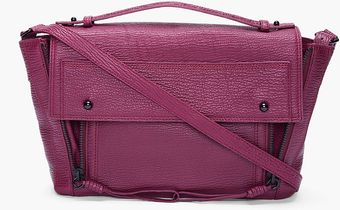 3.1 Phillip Lim Burgundy Pashli Messenger Bag - Lyst