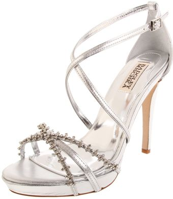 Badgley Mischka Badgley Mischka Womens Gelsey Platform Sandal - Lyst