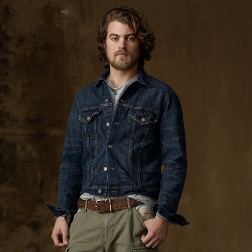 Ralph lauren Dark Wash Denim Jacket in Blue for Men | Lyst