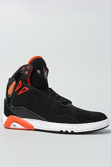 Adidas The Roundhouse Mid 20 Sneaker in Black Craft Orange - Lyst