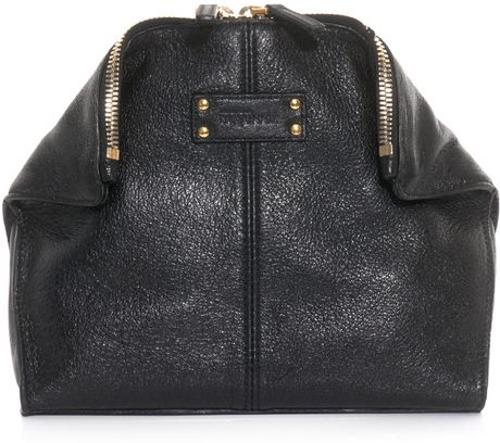 Alexander Mcqueen Makeup Bag in Black - Lyst