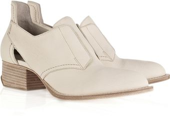 Alexander Wang Zoe Oxford Leather Shoes - Lyst