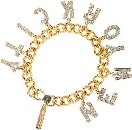 eddie borgo gold new york city bracelet in gold lyst