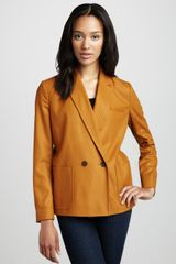 French Connection Astral Felt Blazer - Lyst