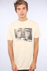 Freshjive The Multiple O Series Two Tee in Pale Yellow - Lyst