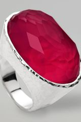 Ippolita Wonderland Oval Ring Raspberry - Lyst