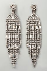 Kenneth Jay Lane Crystal Chandelier Clip Earrings - Lyst