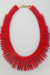 Kenneth Jay Lane  Spike Necklace - Lyst