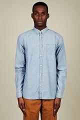 Levi's Spotted Chambray Shirt