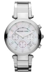 Michael Kors Womens Chronograph Parker Stainless Steel Bracelet 39mm - Lyst