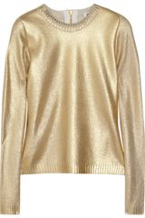 Moschino Metallic Wool blend Sweater