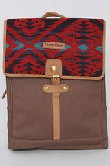 Pendleton The Rucksack Bag in Red Mini Diamond Desert - Lyst