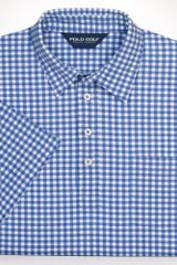 Polo Ralph Lauren Printed Gingham Polo - Lyst