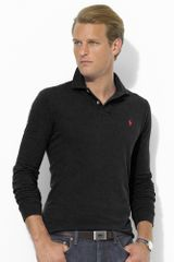 Polo Ralph Lauren Customfit Longsleeved Polo - Lyst