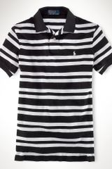 Polo Ralph Lauren Customfit Medium Striped Polo - Lyst