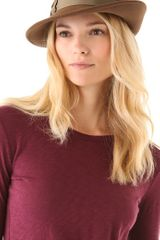 Rag & Bone Press Hat - Lyst