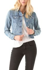 Rag & Bone Denim Jacket - Lyst