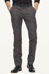 Ralph Lauren Black Label Cotton Twill Cargo Pant - Lyst
