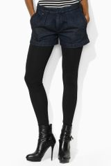 Ralph Lauren Blue Label Stretch Jersey Legging - Lyst