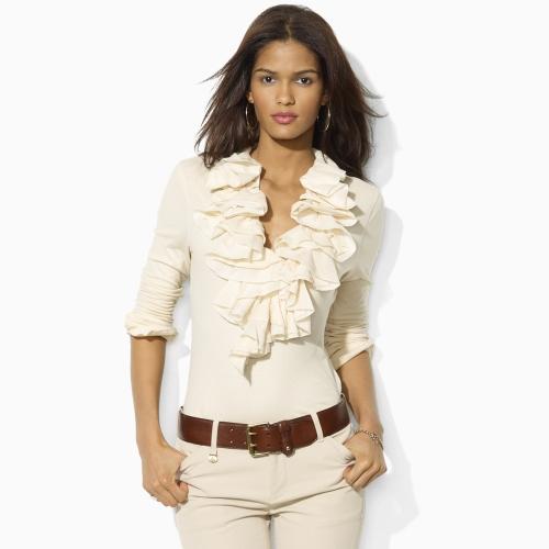 Popular Home  Women  Shirts  Polo Ralph Lauren Womens Blouses Amp Tunics