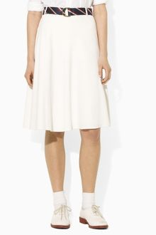 Ralph Lauren Blue Label Team USA Flared Skirt - Lyst