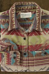 Ralph Lauren Mountain Jacquard Ward Shirt - Lyst