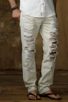 Ralph Lauren Straight Fit Ottawa Wash Jeans - Lyst