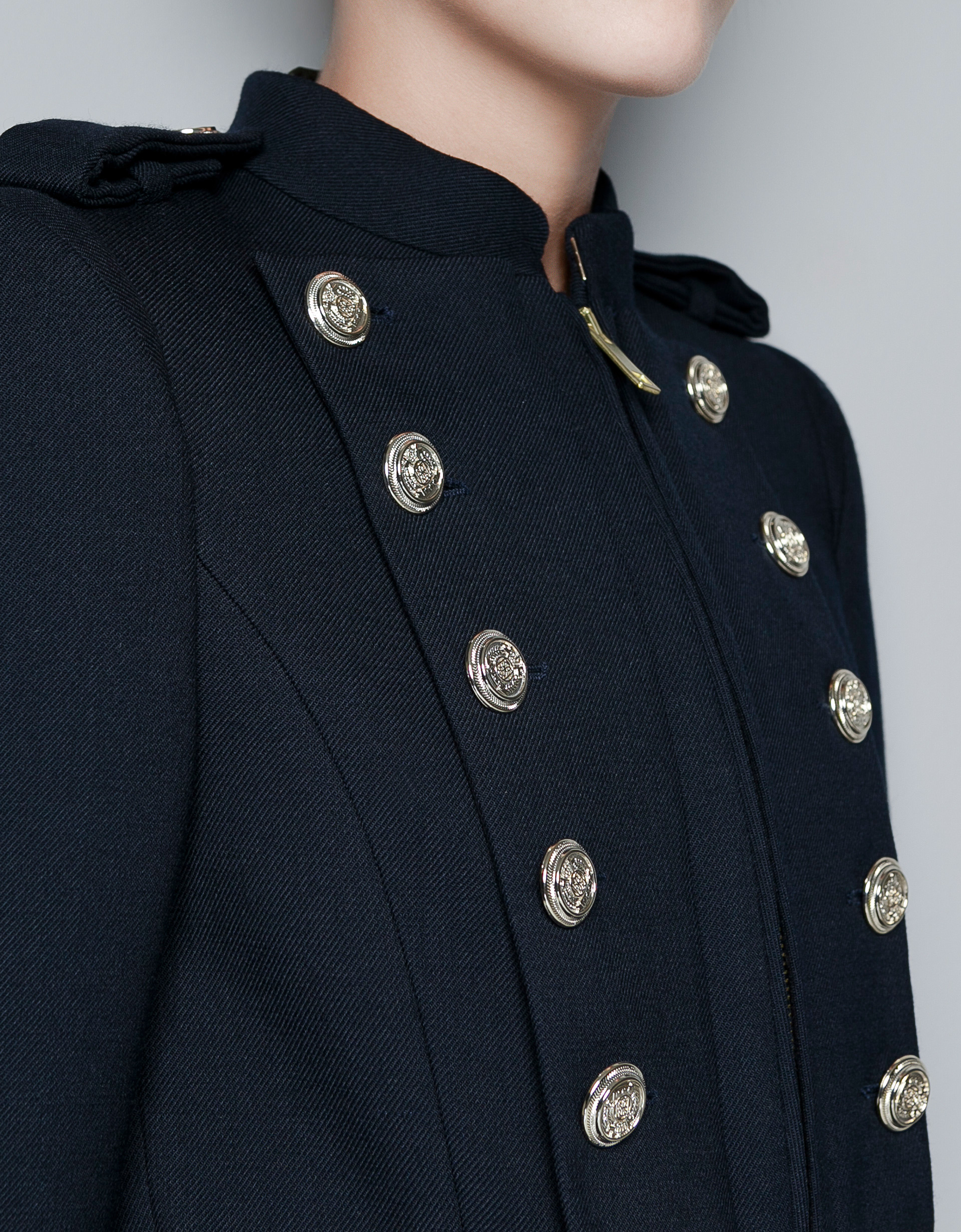 Military Style Coat Buttons