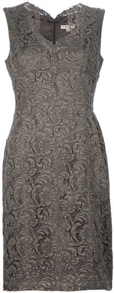 Burberry Lace Dress - Lyst