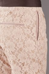 By Malene Birger Lace Trouser in Pink (blush) - Lyst