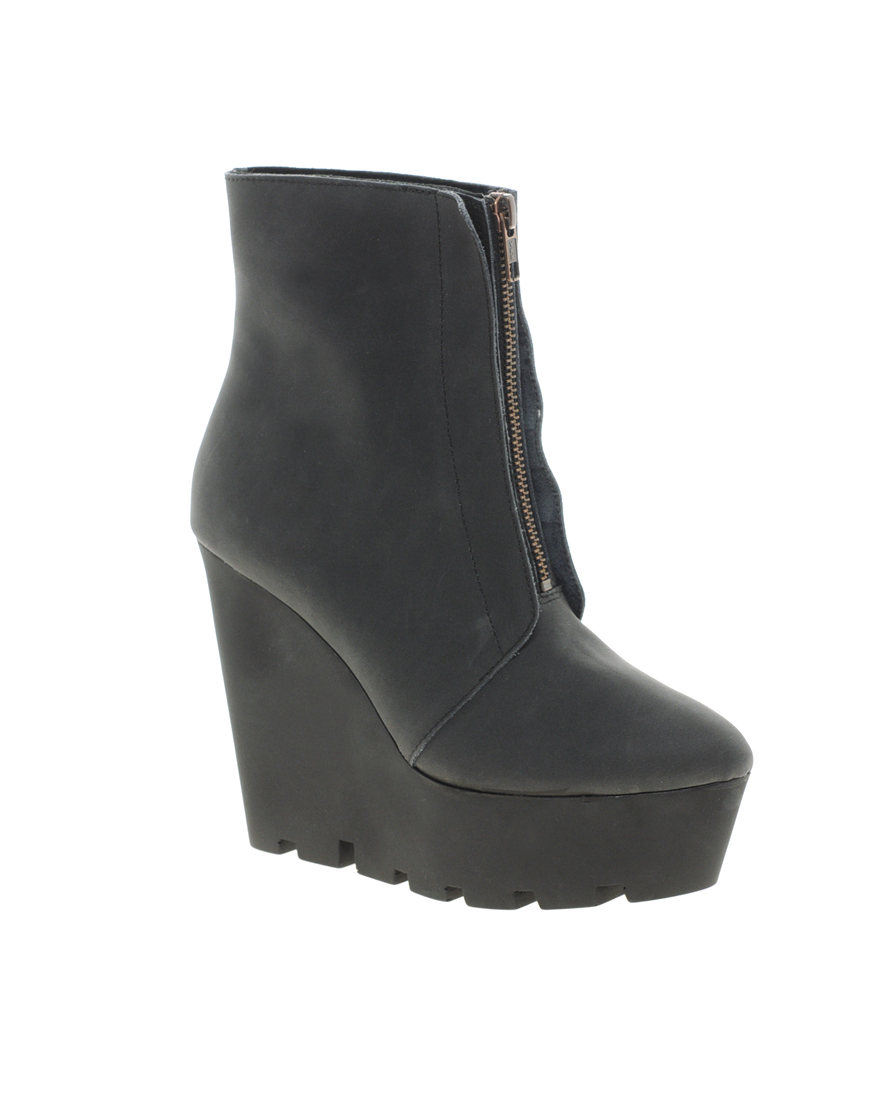 cheap black wedge ankle boots | Gommap Blog