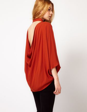 Cheap Monday Open Back Shirt - Lyst