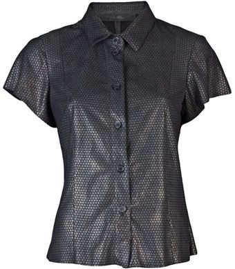 Drome Leather Shirt - Lyst