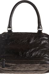 Givenchy Ostrich Small Pandora Messenger