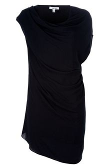 Helmut Lang Asymmetric Dress - Lyst