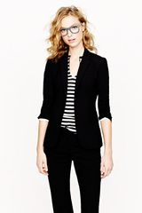 J.Crew Jacket in Stretch Wool - Lyst